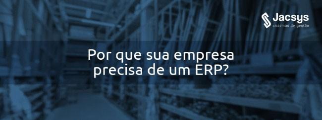 Por que sua empresa precisa de um ERP?